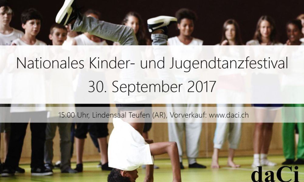 Nationales Kinder- & Jugendtanzfestival 2017